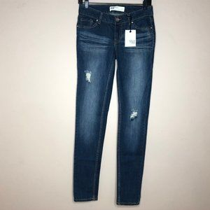 RSQ Ibiza Extreme Skinny Distressed Jean Size 5R
